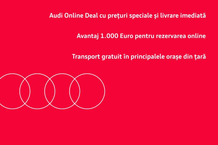 Audi Online Deal