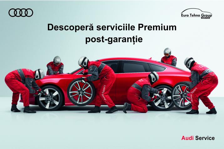 Descoperă serviciile Premium post-garanție