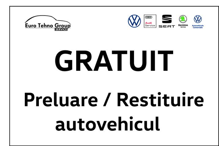 Gratuit - preluare / restituire autovehicul