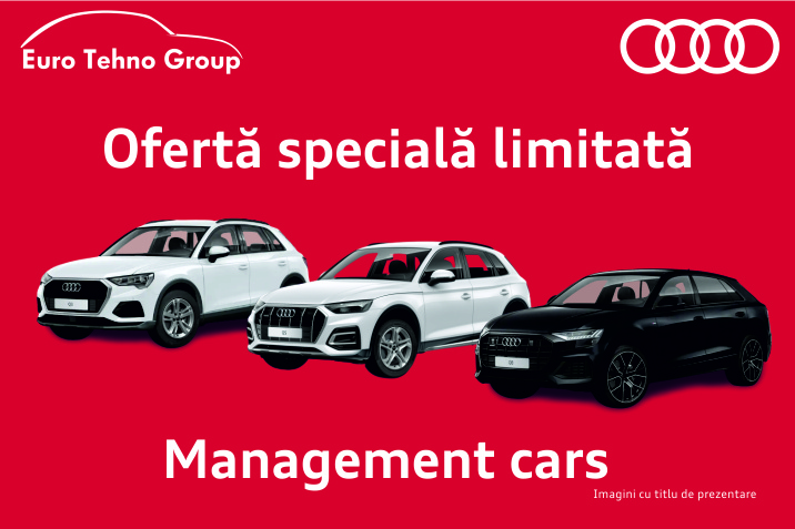 Management Cars - Audi Euro Tehno Group