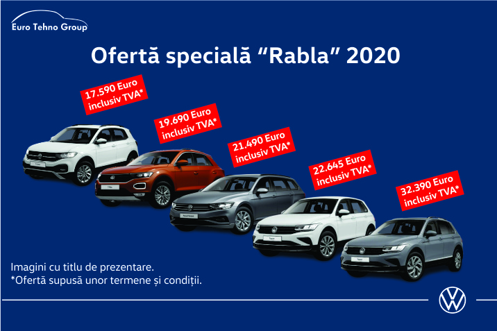 Oferta speciala Volkswagen